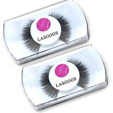 Quality 2 * 100% Mink Soft Short Natural False Eyelashes Eye Make-up Lashes#005