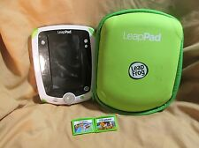 Leapfrog Leappad Explorer 1 Kids Tablet Game System Bundle with 3 Games~Case~Etc