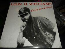 LEON D WILLIAMS CELEBRATION TROJAN VINYL ALBUM MINT