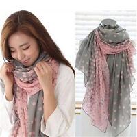 Les femmes longues bonbons couleurs écharpe châle foulards étole foulards Soft