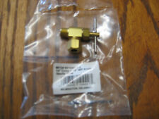 Needle Valve, 90-Degree, 1/4-In. Compression x 1/8-In. MIP NV104C-4-2 NEW