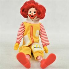 Vintage Remco 1976 Ronald McDonald Doll with Moveable Head Preowned
