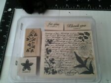 Stampin' Up rubber stamp set, Fresh Cuts