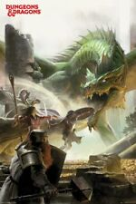 Dungeons & Dragons - Fantasy Art Poster - 24x36 - 4889