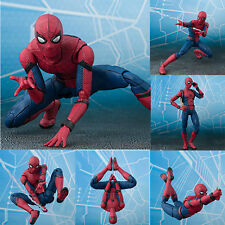 Gift for Kids Spider Man Homecoming Spiderman PVC Action Figure Decor Model Toy