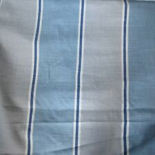 Villa Nova Romo Delaware Stripe Furnishing Fabric -BLUE-137cm - £12.50 per Metre