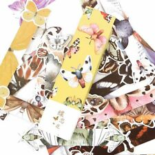 30 Pcs/pack Creative Colorful butterfly Exquisite Boxed Bookmark Message Card