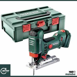 Metabo STA 18 LTX 100, Body Grip Jigsaw, Body Only + MetaLoc 601002840