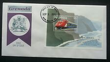 Grenada Locomotive Diesel Hydraulic 1995 Train Railway Transport Vehicle (FDC)