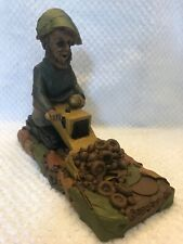 Bobcat Tom Clark Gnome Caterpillar Tractor Cairn Studio 5114 Ed 87 Coa & Story