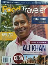 Food Traveler Winter 2016 Ali Khan Cheap Eats Cooking Channel FREE SHIPPING sb