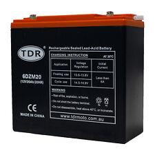 6DZM20 12V 18AH Sealed Battery AGM > 17ah for Solar, for Jet Ski 20ah Ebike