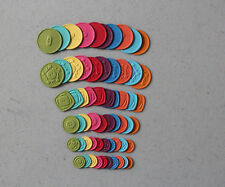 Stampin' Up New Brights Embosslits SWEET BUTTONS Cuts 60