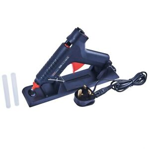 35-80w CORDLESS GLUE GUN RECHARGEABLE 2 STICKS WIRE STAND S1845 CRAFT HOBBY JOB
