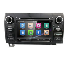Fit Toyota Tundra Sequoia in Dash GPS Navigation Car Truck Stereo Radio DVD BT