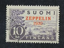 CKStamps: Finland Stamps Collection Scott#C1 Used Signed