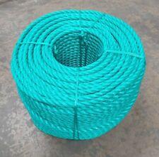 Green 16mm x 220mtrs Split Film Polypropylene rope