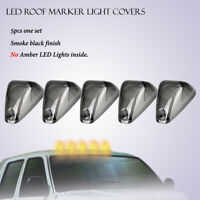 Cab Marker Roof Top Running Light Bulbs Covers Lens Fit Ford F250-550 Super Duty