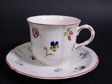 """Villeroy & Boch: Kaffeetasse + Untertasse """"Petite Fleur""""     5A746"""