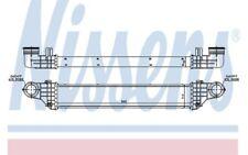 NISSENS Intercooler radiador admisión de aire 96786