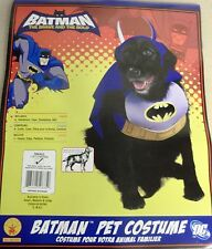 "PUPPY DOG PET HALLOWEEN COSTUME BATMAN BRAVE & THE BOLD DC COMICS SMALL 10""-12"""