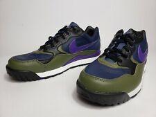 Nike Air Wildwood ACG Midnight Navy Purple Olive AO3116 400 Retro Men's Sz 11