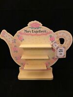 MARY ENGELBREIT TEAPOT DISPLAY SHELF WALL HANGING WITH TAGS