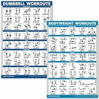 Newme fitness musculation exercice d/'entraînement Poster-maintenant feuilleté Résistance Tra...