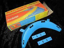 MATCHBOX SUPERFAST PISTA Accessorio SF-14 180 GRADI CURVA velocità confezione in scatola