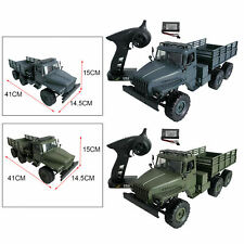 MN88S RC Car, Maßstab 1:16 2,4 GHz 4CH 6WD ferngesteuerter Militärlastwagen,