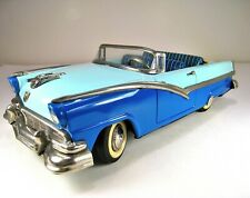 """HAJI Tin Friction 1956 Ford Sunliner Convertible 11"""" Excellent Condition"""