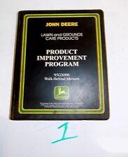 John Deere JD 95GX008 Walk Behind Mower Crank Rework Special Tool Product Video