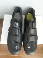 SPECIALIZED Black Cycling Road Shoes 6.0 Body Geometry Size UK 12.75 EU 48