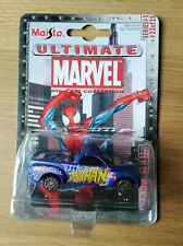 Ultimate Marvel- Rare Spider-man Maisto Toy Car- Series 1 #22 of 25 from 2002
