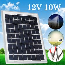 10W 12V Energy+ Poly Solar Panel Battery Charging For RV Boat Caravan Motorhome