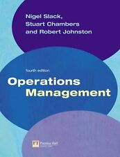 Operations Management,Prof Nigel Slack, Dr Stuart Chambers, Prof Robert Johnsto