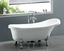 CLAW FOOT ACRYLIC FREE STANDING SOAKING BATHTUB 1700 X 780 X 700MM