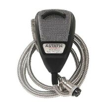 ASTATIC 636LSE NOISE CANCELING 4 PIN MIC WITH CHROME GRILL AND METAL CORD