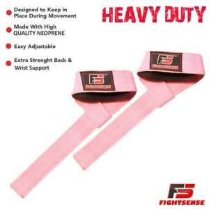 Wrist Wraps BAR LIFTING STRAPS for POWER LIFTING CROSSFIT Gym WEIGHT LIFTING