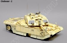 Challenger II  1/25 scale model kit (lasercut frame and tracks inc.)  1411 parts