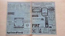 L' ILLUSTRAZIONE ITALIANA 1914 N°30 LIDO VENEZIA ASTRONOMIA CAPPELLA MONZA
