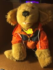 Build A Bear Puppy in Running Oufit Used Good Condition