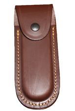 Étui couteau de poche cuir 2
