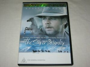The Silver Brumby - Russell Crowe - VGC - Region 4 - DVD