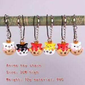 Keychain Poyopoyo Kansatsu Nikky Rilakkuma Bear Teddy Bear Keyring Keychain 1