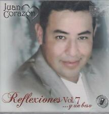 CD - Juan Corazon NEW Reflexiones Vol. 7 Y Un Beso 16 Tracks FAST SHIPPING !