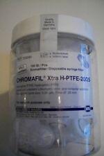 Membranspritzenfilter X-tra PET 0,45  µm, 100 St., 25 mm Filterdurchmesser,  OVP
