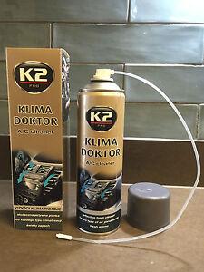 K2 Pro KLIMA DOKTOR A/C Air Conditioning Cleaner Foam Car Eliminate Odor - 500ML