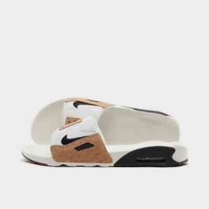 NWT Men's Nike Air Max 90 Slide Sandals SAIL BLACK  BQ4635 103 11 12 13 14 15