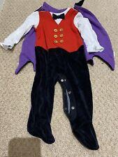 F&F Vampire/Dracula Halloween Fancy Dress Baby Costume 3-6 Months